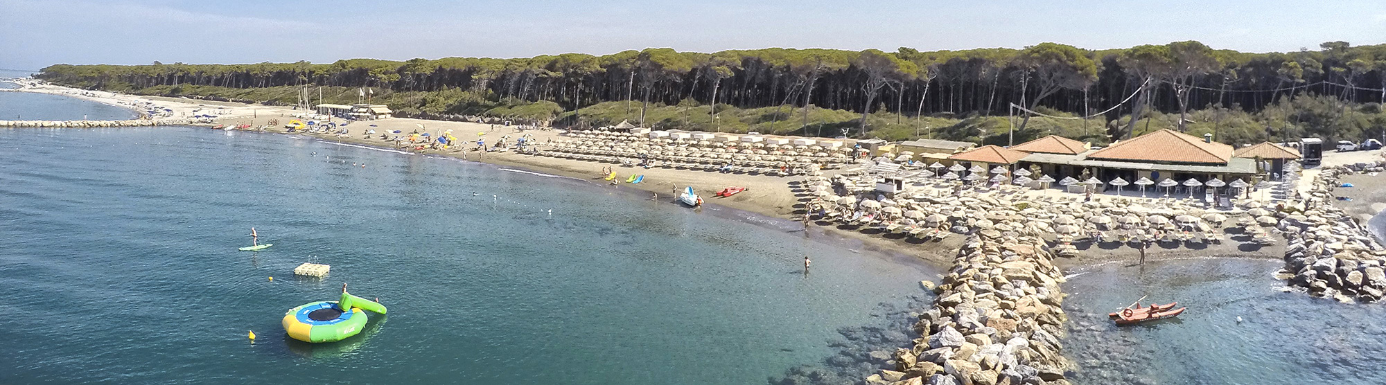 Stabilimento balneare cecina mare toscana